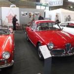 Le stand du Club Alfa Romeo de France