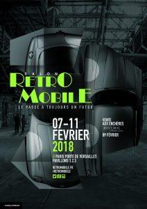 Rétromobile 2018 @ Parc des expo Paris porte de Versailles