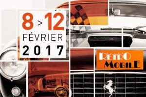Rétromobile 2017 @ Parc des expo Paris porte de Versailles