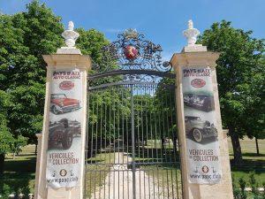 Salon rétro Pays d'Aix Auto Classic @ jardins d'Albertas -Bouc bel air