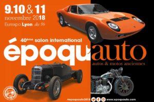 Salon Epoqu'Auto 2018 @ Eurexpo Lyon-Bron