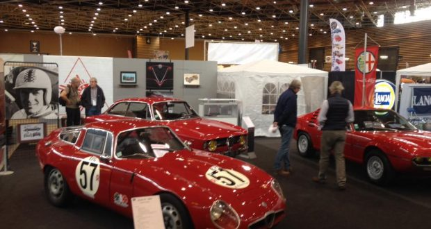Salon epoquauto 2017 lyon eurexpo club alfa romeo de france for Salon lyon eurexpo
